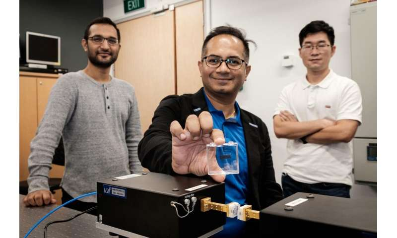 NTU Singapore scientists build ultra-high-speed Terahertz wireless chip