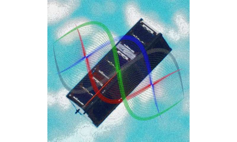 Quantum entanglement demonstrated aboard orbiting CubeSat