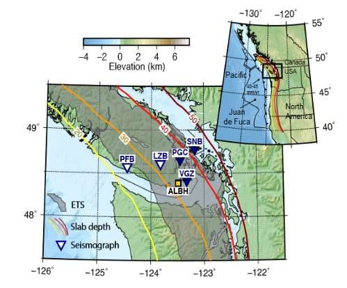 Researchers find evidence to explain behavior of slow earthquakes