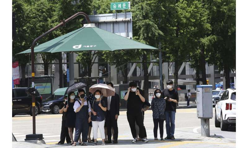 Resurgence of virus threatens South Korea's success story