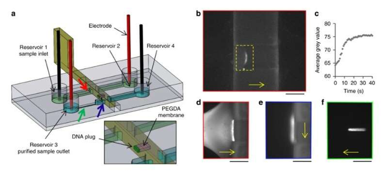 Sliding walls – a new paradigm for microfluidic devices
