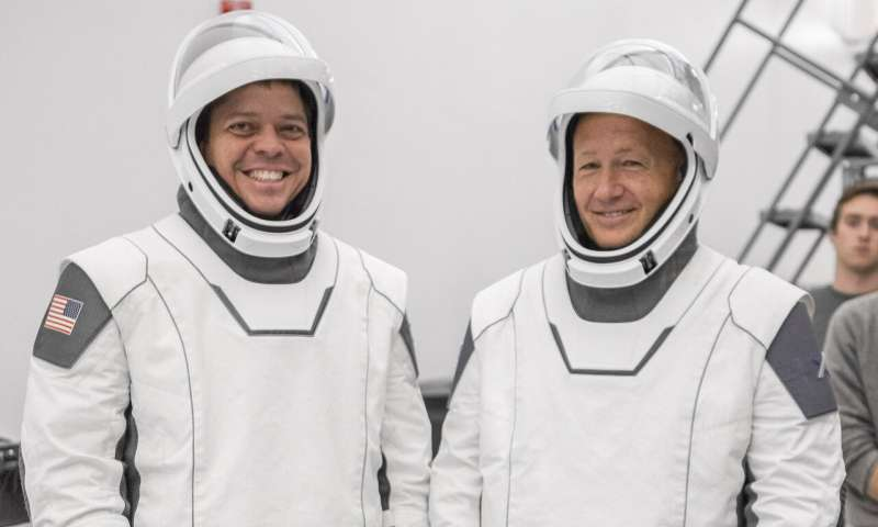 SpaceX's 1st astronaut launch breaking new ground for style