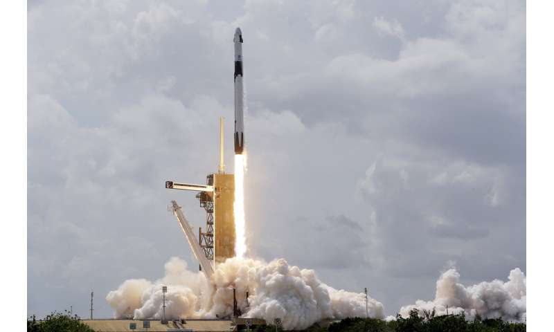 SpaceX's historic encore: Astronauts arrive at space station