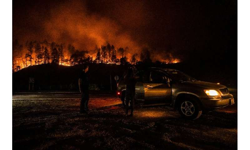 Tens of thousands of residents have been evacuated from towns including the entirety of wine tourism destination Calistoga