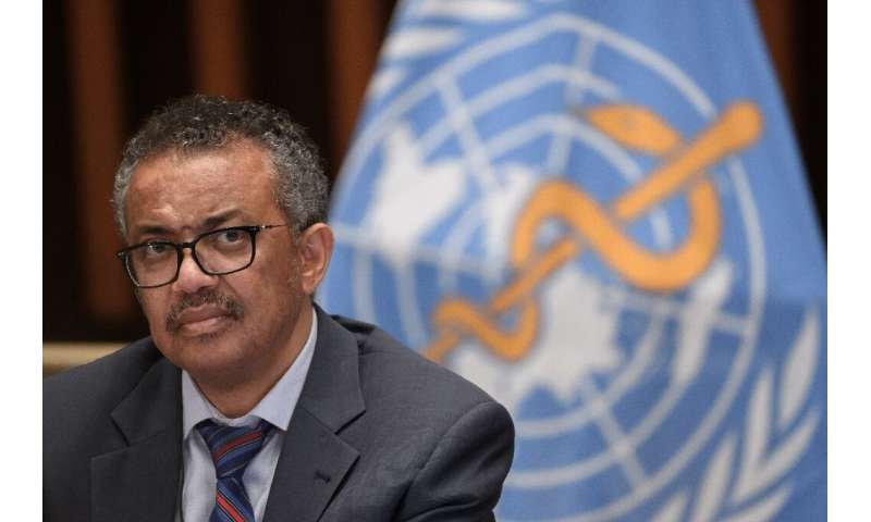 World Health Organization (WHO) Director-General Tedros Adhanom Ghebreyesus says people most exposed to the coronavirus should b