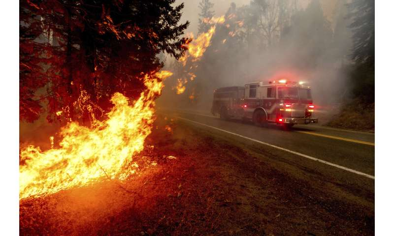 California wildfires growing bigger, moving faster than ever