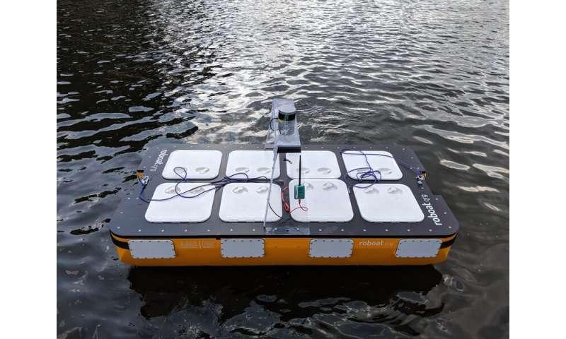 Researchers improve autonomous boat design