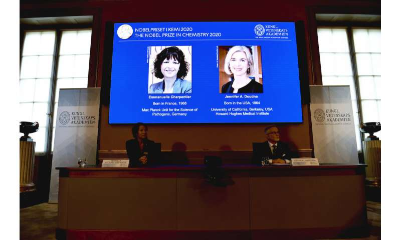 2 scientists win Nobel chemistry prize for gene-editing tool