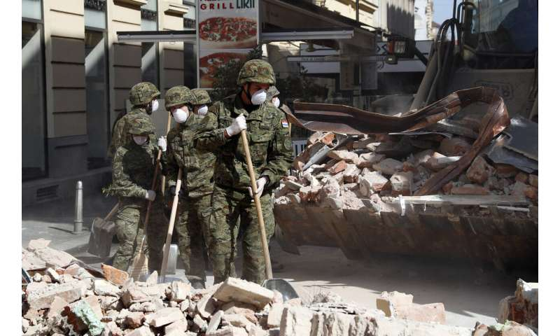 Aftershocks rattle Croatian capital a day after strong quake