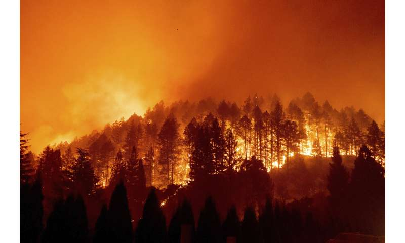California braces for renewed fire threat from windy weather