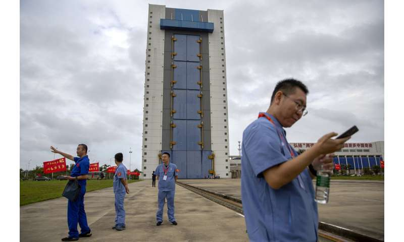 China launches mission to bring back material from moon