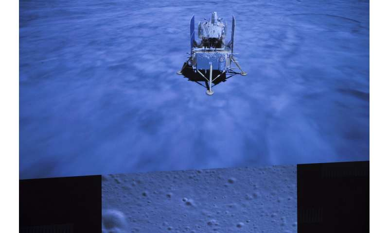 Chinese moon probe begins return to Earth with lunar samples