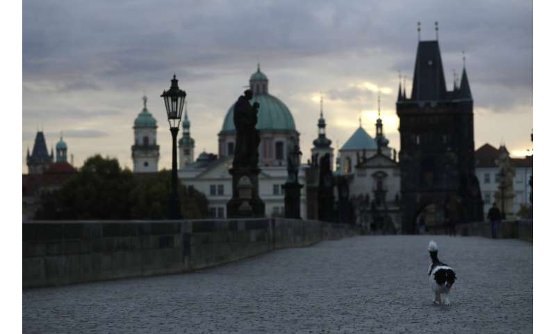 Czech Republic tops record infection surge in Eastern Europe