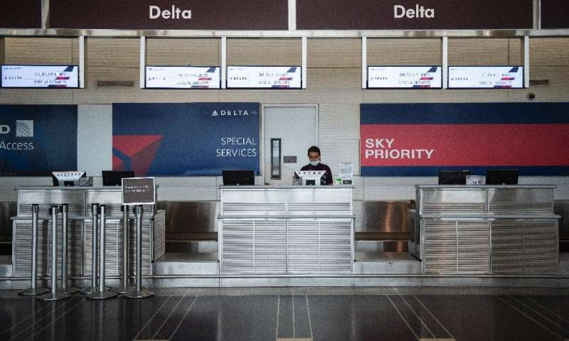 Delta Air Lines is operating at only about 30 percent of its normal July schedule as COVID-19 crushes demand during a normally b