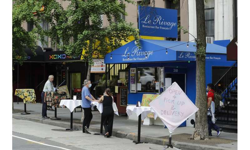 From shops to dining out, NYC reopening hits 'biggest piece'
