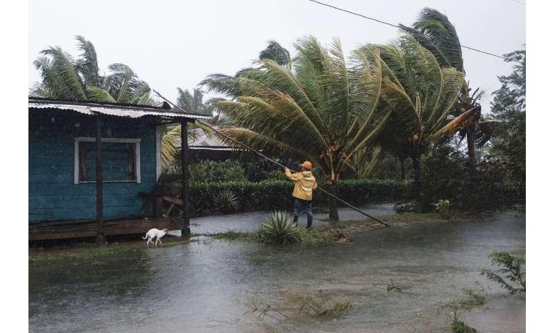 Hurricane Eta lashes Nicaragua with rains, deadly mudslides