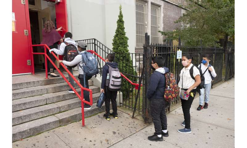 In NYC and LA, returning pupils face battery of virus tests