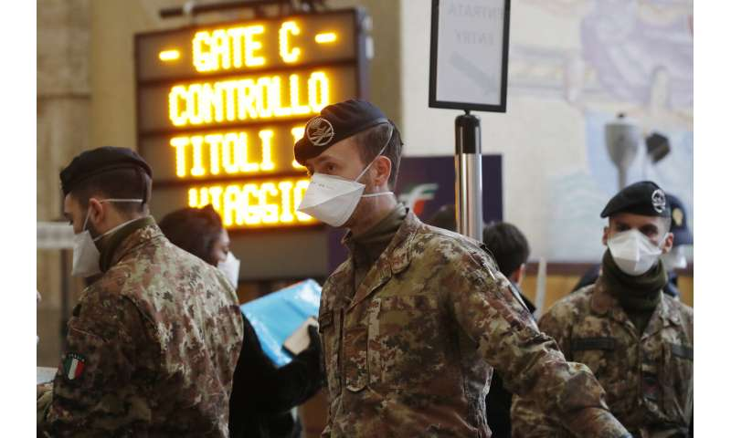 Italy imposes nationwide restrictions to contain new virus