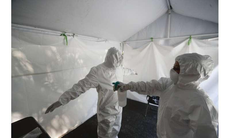 Mexico reaches 1 million virus cases, nears 100,000 deaths