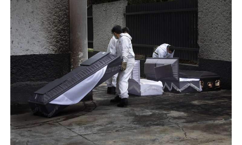 Mexico reports 947 more COVID deaths, 2nd highest daily toll