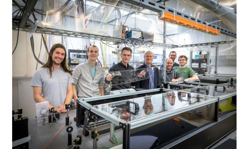 Researchers observe ultrafast processes of single molecules for the first time
