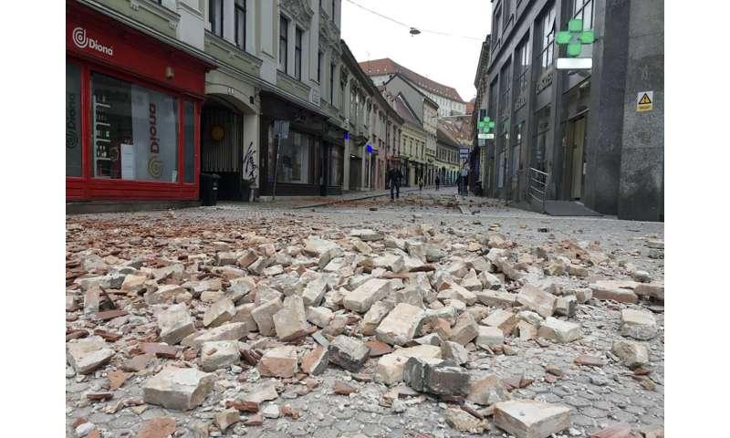 Strong quake shakes Croatia, damaging buildings in capital
