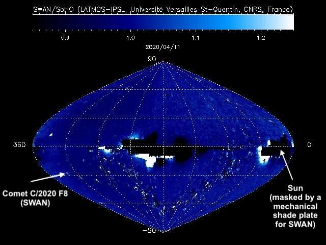 The discovery of Comet SWAN by solar-watcher SOHO