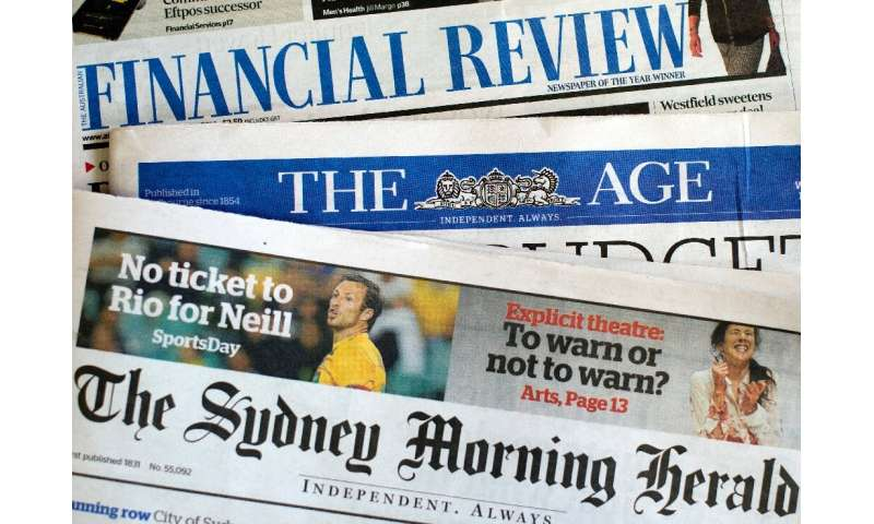 The government said 'nothing less than the future of the Australian media landscape is at stake with these changes'
