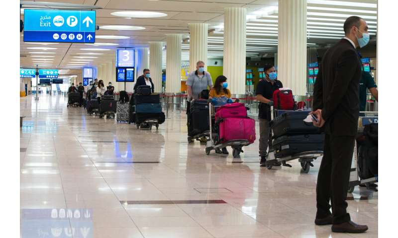 Virus slows Dubai airport, world's busiest for global travel