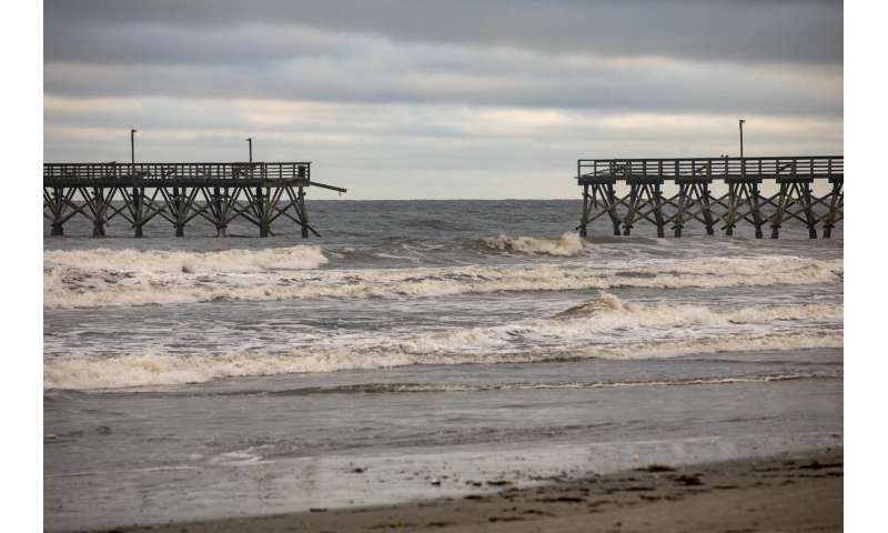 Tropical Storm Isaias drives wild weather up Interstate 95
