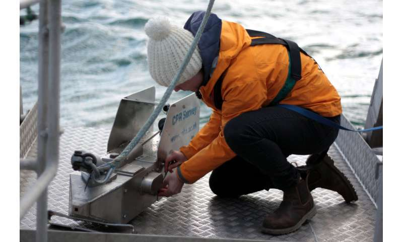 Climate change has degraded productivity of shelf sea food webs