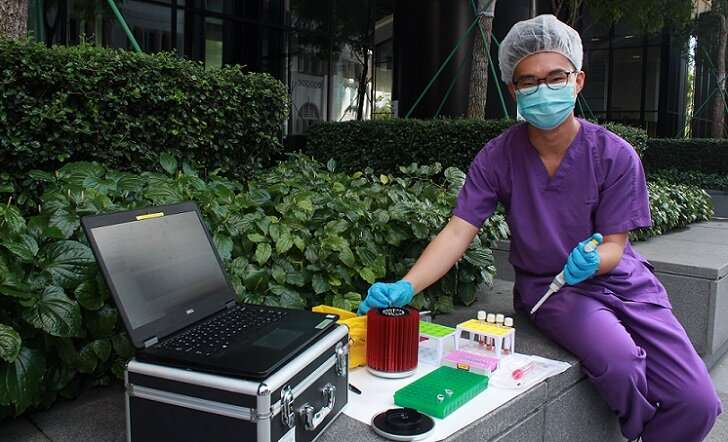 Researchers speed up gold-standard COVID-19 diagnostic test