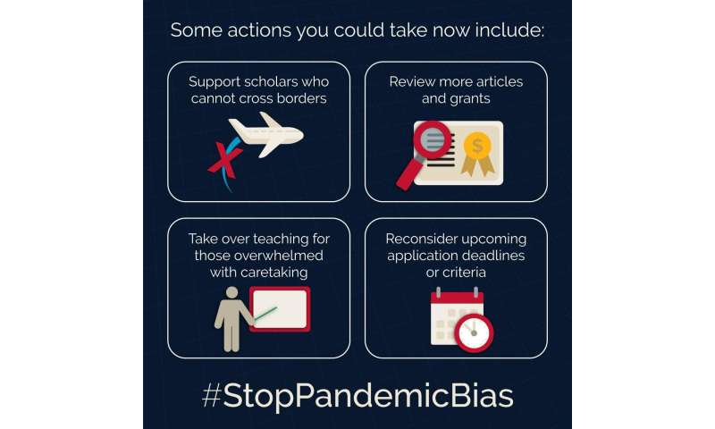 Researchers urge the scientific community to #StopPandemicBias