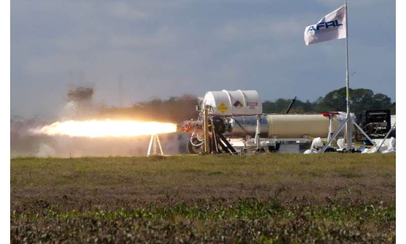 X-60A program conducts integrated vehicle propulsion system verification test
