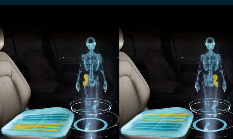 Could your car seat trick brain with walk feels?