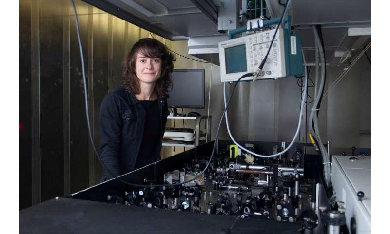 Record-breaking terahertz laser beam