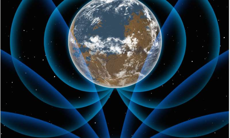 New research provides evidence of strong early magnetic field around Earth