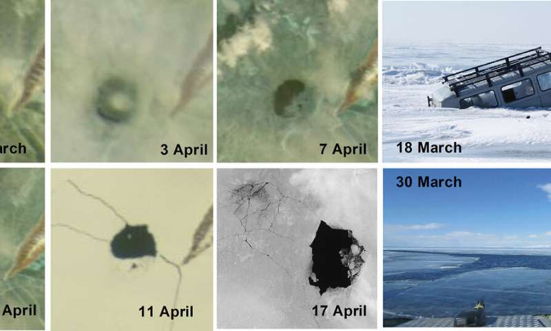 A possible explanation for the mysterious ice circles in Lake Baikal