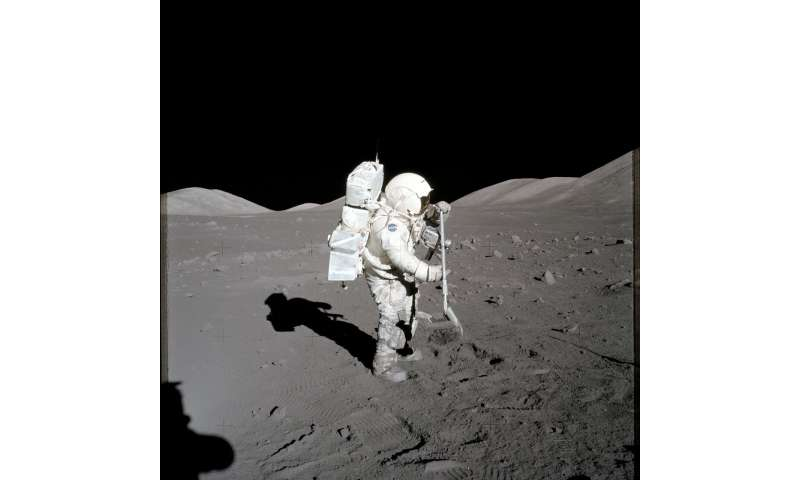 One small grain of moon dust, one giant leap for lunar studies
