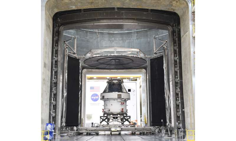 Image: Tests complete for Orion