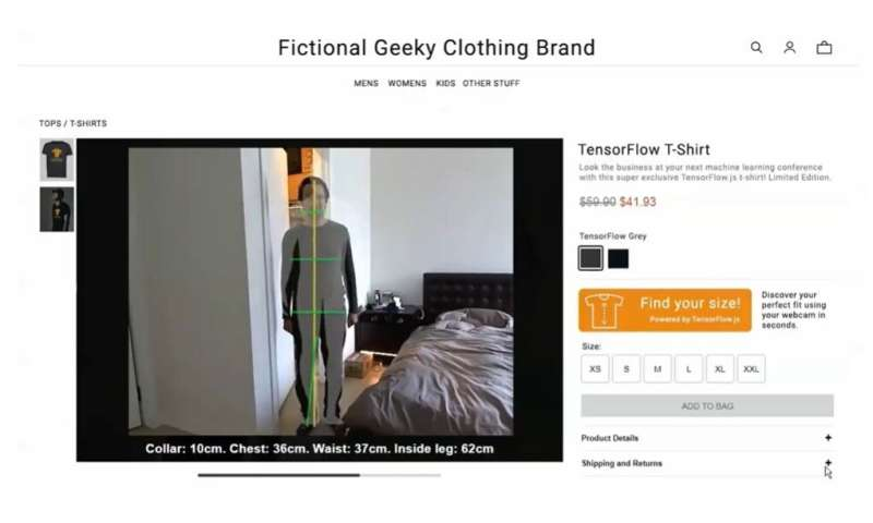 A clothing measurement app for the age of social distancing