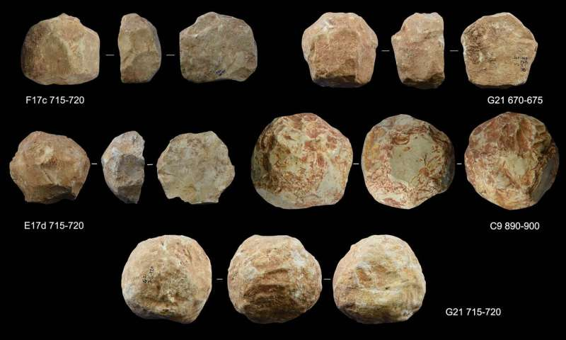 A study reveals one of the possible uses of spheroids in the Middle East 400,000 years ago