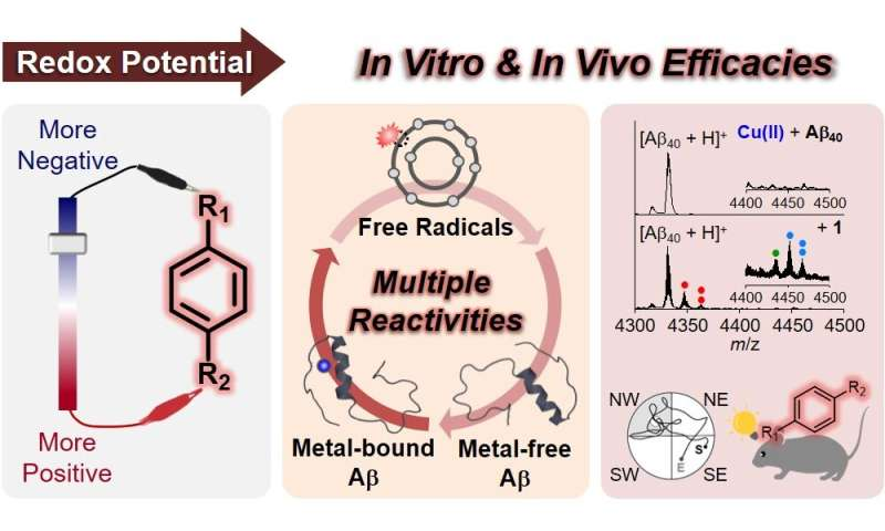 Simple molecular reagents to treat Alzheimer's disease
