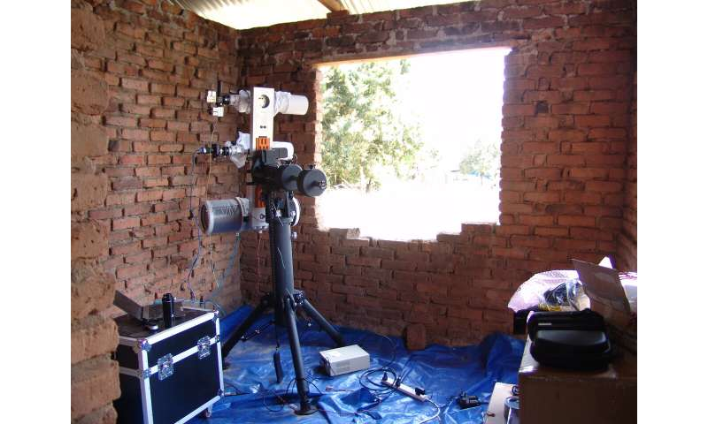 Lidar used to track mosquito activity in Africa to help combat malaria