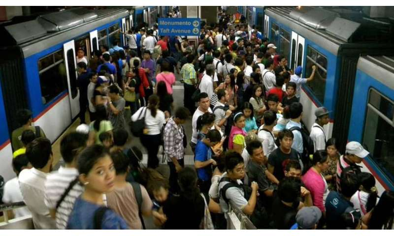 Asia's public transport systems limit social distancing