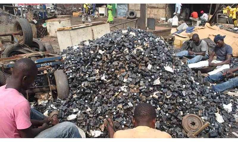 Upcycling e-waste trash into innovative treasure