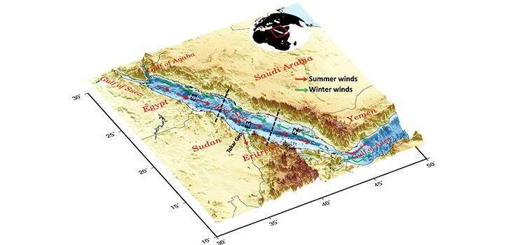 Red Sea climate forecasts: handle with care