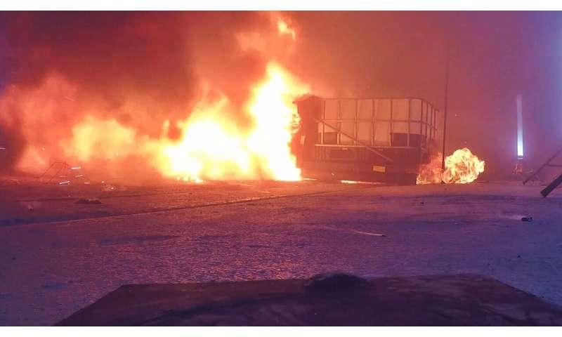 Seberapa berbahaya membakar mobil listrik?