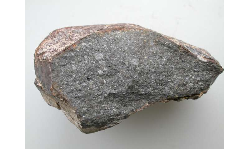 Meteorite study suggests Earth may have been wet since it formed