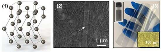 2-D nanomaterial shows promise for high-speed electronics, quantum devices and defense tools